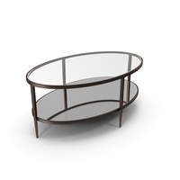 Clairemont Oval Coffee Table PNG & PSD Images