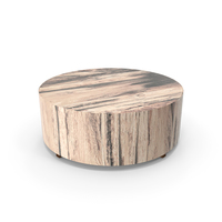 Round Wood Coffee Table PNG & PSD Images