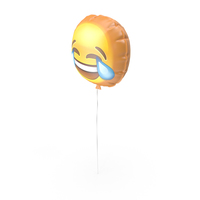 Tears Emoji Balloon PNG & PSD Images
