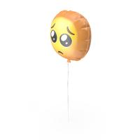 Crying Sad Emoji Balloon PNG & PSD Images