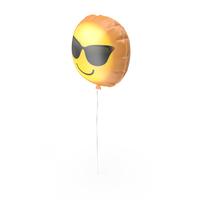 Cool Emoji Printable Balloon PNG & PSD Images