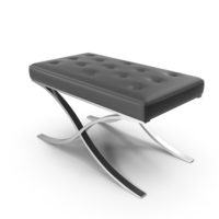 Leather Ottoman PNG & PSD Images