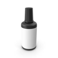 Correction Fluid Black PNG & PSD Images