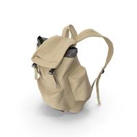 Men's Backpack  Beige PNG & PSD Images