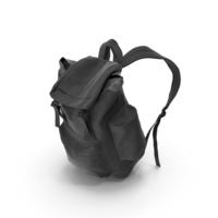 Mens Backpack Black PNG & PSD Images