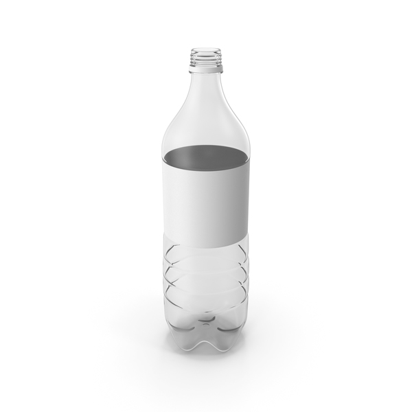 Plastic Water Bottle Empty PNG & PSD Images