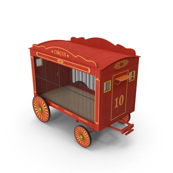 Circus Wagon PNG & PSD Images