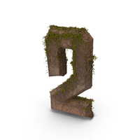 Stone With Ivy Number 2 PNG & PSD Images