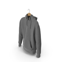 Mens Hoody On Hanger PNG & PSD Images