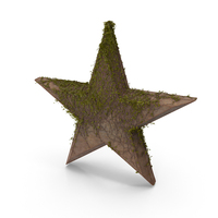 Stone Star With Ivy PNG & PSD Images