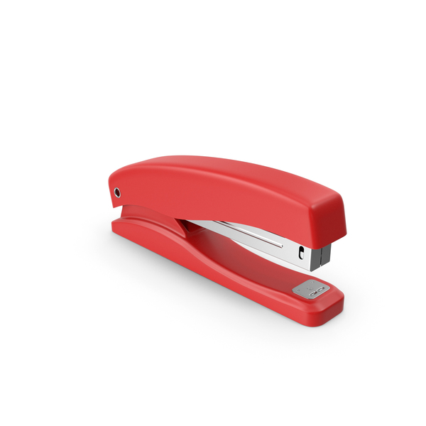 Stapler Red PNG & PSD Images