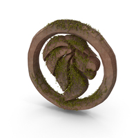 Stone Lion With Ivy PNG & PSD Images