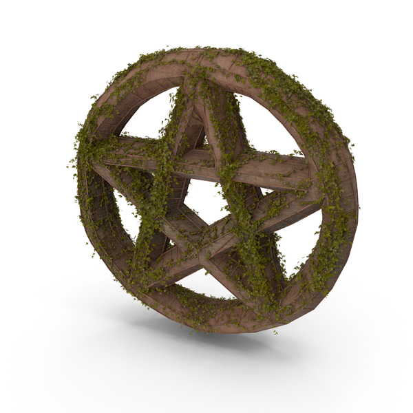 Stone With Ivy Pentagram PNG & PSD Images