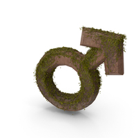 Stone With Ivy Male Symbol PNG & PSD Images