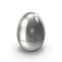 Egg Shaped Kitchen Timer PNG & PSD Images