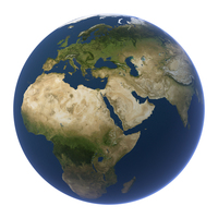 Planet Earth Clean PNG & PSD Images
