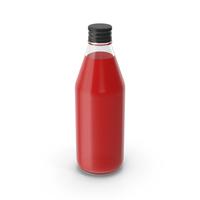 Glass Juice Bottle PNG & PSD Images