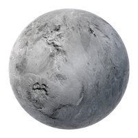 Fictional White Planet PNG & PSD Images