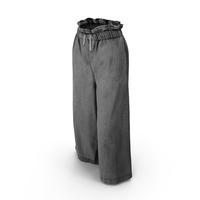 Women's Pants Dark Gray PNG & PSD Images
