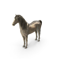 Horse Sculpture PNG & PSD Images
