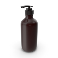 Bottle With Dispenser Brown PNG & PSD Images