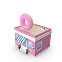 Donut Shop PNG & PSD Images
