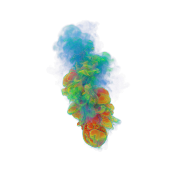 Multi Color Smoke PNG & PSD Images