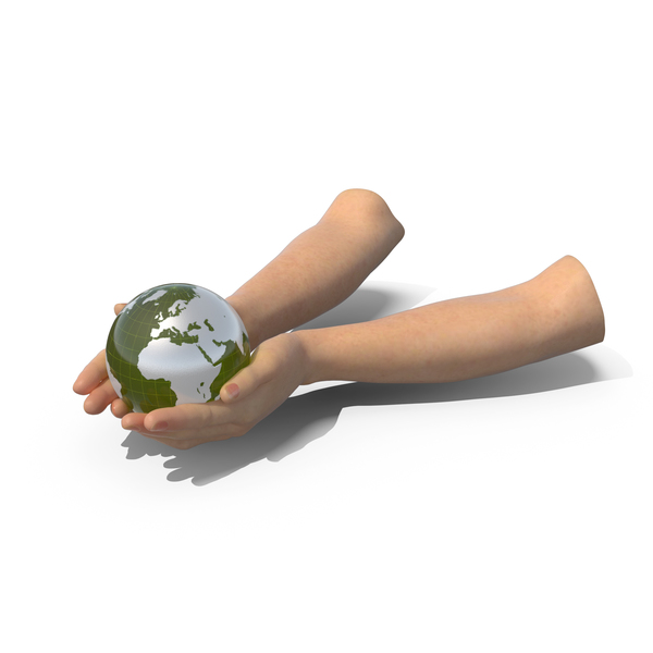 Hands Holding Globe PNG & PSD Images