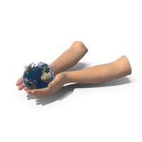 Hands Together Earth PNG & PSD Images