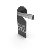 Hotel Do Not Disturb Sign PNG & PSD Images