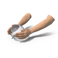 Hands Crystal Ball Daylight PNG & PSD Images