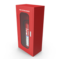 Fire Extinguisher In Box PNG & PSD Images