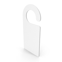 Door Sign White PNG & PSD Images