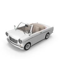 Cartoon Car White PNG & PSD Images