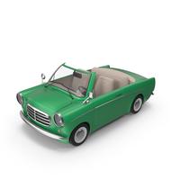 Cartoon Car Green PNG & PSD Images