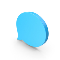 Speech Bubble Chat Web Icon PNG & PSD Images
