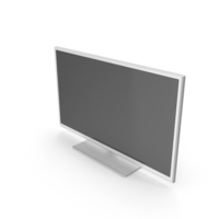 Television White PNG & PSD Images