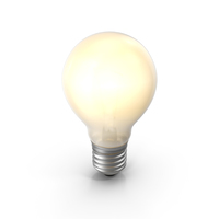 Lightbulb Turned on Glossy PNG & PSD Images