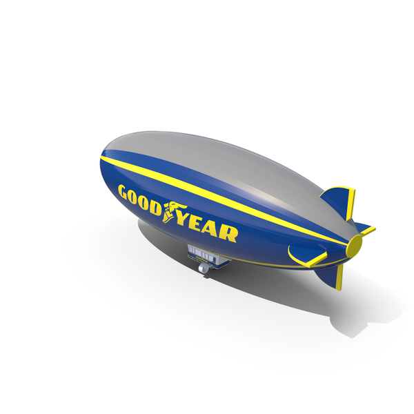 Good Year Blimp PNG & PSD Images