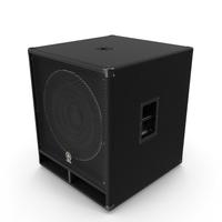 Professional Speaker Yamaha SW118V PNG & PSD Images
