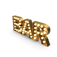 Marquee Sign BAR PNG & PSD Images