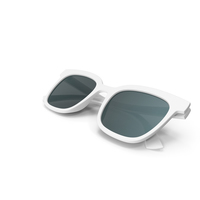 Womens Sunglasses Closed White PNG & PSD Images