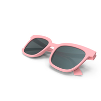 Women's Sunglasses Closed Pink PNG & PSD Images
