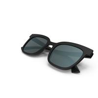 Women's Sunglasses Closed Black PNG & PSD Images