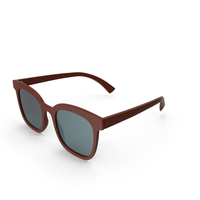 Women's Sunglasses Brown PNG & PSD Images