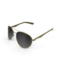 Sunglasses Golden PNG & PSD Images