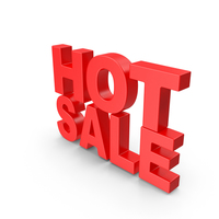 Hot Sale Text PNG & PSD Images
