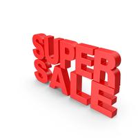 Super Sale Text PNG & PSD Images