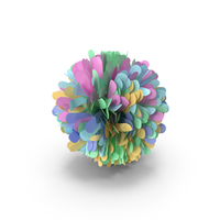 Multicolored Pom Pom PNG & PSD Images