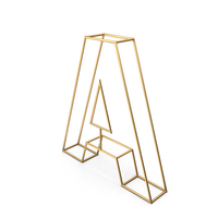 Decorative Wire Letter A PNG & PSD Images